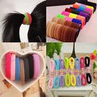 50/100Pcs Women Girls Hair Band Ties Rope Ring Elastic Hairband Ponytail Holder