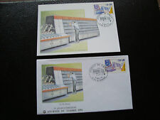 FRANCIA - 1 tarjeta 1 sobre 1er día 18/3/1991 (journee sello)(cy79)frenchA