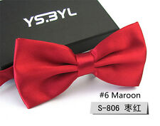 Classic Men Pre Tied Wedding Party Prom Bow Tie Formal Business Tuxedo Bowtie