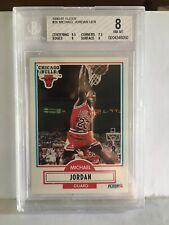 1990-91 Fleer #26 Michael Jordan BGS 8 Chicago Bulls 🔥