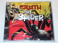 Albert Glasser EARTH VS. THE SPIDER Limited Soundtrack CD New and Sealed