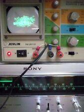 SONY ST-5140 FM stereo AM TUNER + OSCILLOSCOPE JEULIN comme MARANTZ