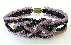 Handmade Infinity Knot Magnetic Bracelet