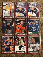 2015-16 Upper Deck Portfolio Hockey Rookie Phenom RC Card lot (21) $$$