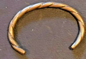 Used Cause and Effect Cause & Effect Billy Moore Copper Twisted Cuff $59