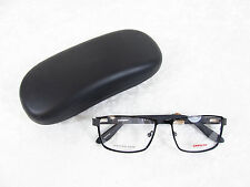Carrera Eyeglass Frames Stainless Steel CA 5504 BXE Shiny Black / Metal Rx-able