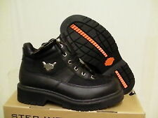 Harley davidson casual boots sierra 5 inch high leather boots black size 8