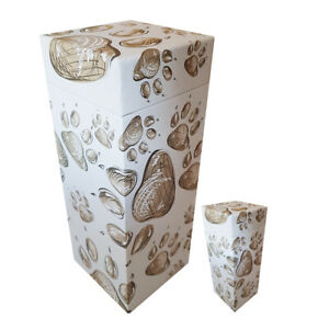 ScatterPod Ashes Urn - Staggered PawPrints - Various Sizes