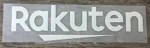 2018-2019 RAKUTEN SPONSOR Home & Away Printing Patch Badge