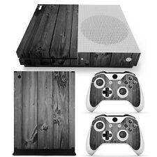 XBOX ONE S design pelle sventa Adesivo Pellicola Protettiva Set - Grey legno