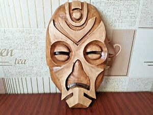 Wooden dragon mask from the computer game The Elder Scrolls V: Skyrim. Gift