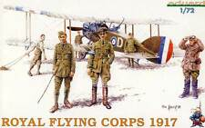 Eduard RAF Royal Flying Corps 1917 Personnel Mechaniker Figuren Pilot 1:72 kit