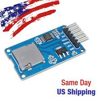 Micro SD Card Reader Writer Module SPI Arduino PIC AVR SDHC USA SHIP TODAY!