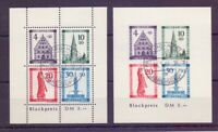 Frz. Zone Baden 1949 - Block 1 A + B gestempelt geprüft (511)
