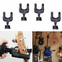 Newly 4pcs Guitar Hanger Hook Holder Stand Wall Mount for All Display Instrument