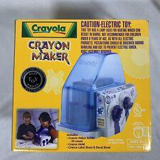 Crayola Crayon Maker  Electric Best Toy Award – New Open Box – Box has Wear