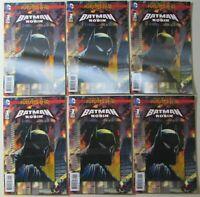 Batman and Robin Futures End 3-D Cover #1 x 6 Copies NM DC Comics