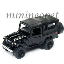 JOHNNY LIGHTNING JLSP004 A 1980 TOYOTA LAND CRUISER 1/64 DIECAST MODEL CAR BLACK