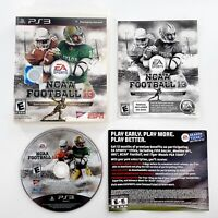 NCAA Football 13 (Sony PlayStation 3, 2012) Complete Tested & Works