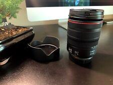 Canon RF 24-105mm f/4L IS USM Lens & Hood - Mint!