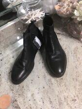 BNWT ZARA MAN (11/44) BLACK CHELSEA DRESS ANKLE BOOTS / Booties Size 11us 44eur