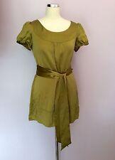 Monsoon Hip Length Silk Scoop Neck Tops & Shirts for Women