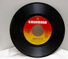 Michael Bolton - Georgia on My Mind/Take a Look at My Face Columbia 45 vinyl