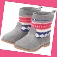 Girls Summer Rainbow Sparkle 1.75 Heel Gogo Boots size Large 2-3