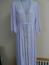 Free People Women's Embroidered  dress / maxi,medium,lillac