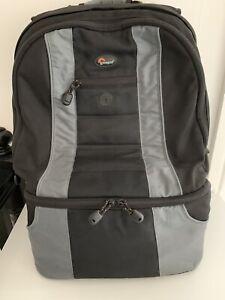 Lowepro Camera Bag Backpack Black And Grey Padded