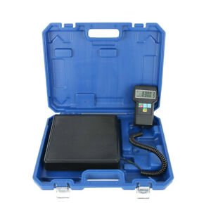 Electronic LCD Display Refrigerant Charging Scale Precision Calibration Weights