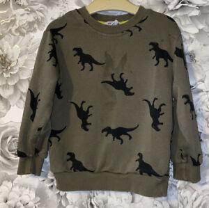 Boys Age 2-4 Years - H&M Dinosaur Sweater Top