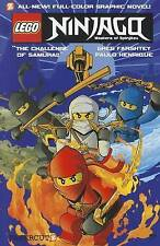NEW LEGO NINJAGO COLOUR GRAPHIC NOVEL BOOK  1 - CHALLENGE OF SAMUKAI