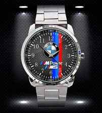 New BMW M Power M5 X5 M3 M4 Series Speedometer Sports Metal Watch