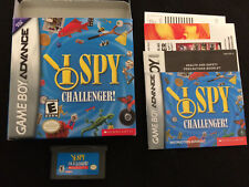 I Spy Challenger (Nintendo Game Boy Advance/SP/DS) Complete In Box/CIB Nice!!!