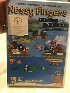 Nessy Fingers Learn to Touch Type CD