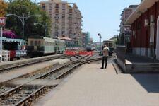 PHOTO  ITALY SICILY CATANIA FCE RAILWAY BORGO SIDINGS ETC E OF STATION