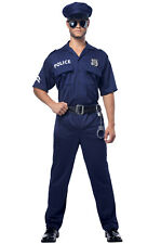 Brand New Police Officer Cop Plus Size Costume