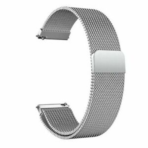 Samsung Galaxy Watch Active 2 40mm 44mm Stainless Steel Loop Milanese Band Strap