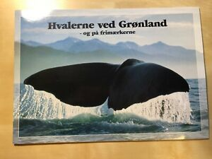 Greenland Illustrated Booklet w/ stamps 'Whales'