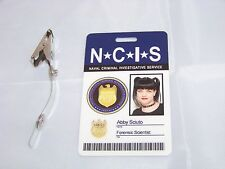 Navy CIS Forensic Scientist Abby Sciuto , ID - Karte , ID Badge , NCIS