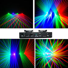 NEW ITEM 4 Lens 250mW Red+Green+ violet +Green DMX Laser DJ Stage Lighting