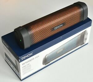 Denon envaya mini Bluetooth Lautsprecher + neues Akku und schwarz-orange Farbe
