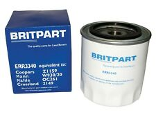 LAND ROVER DEFENDER, DISCOVERY & RANGE ROVER OIL FILTER X1 PART ERR3340