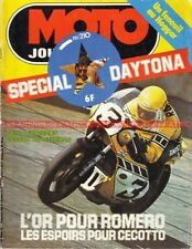 MOTO JOURNAL  210 PANTHER 600 LAPIZE DAYTONA Eric Offenstadt DAYTONA 1975