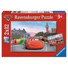RAVENSBURGER PUZZLE CARS LIGHTNING MCQUEEN UND SEINE FREUNDE 2X12 TEILE NEU