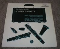 The Clarinet Artistry Of John LaPorta~Red Vinyl~RARE 1957 Jazz Mono~FAST SHIP!!!