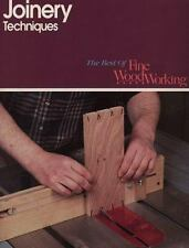 Joinery Techniques (Best of Fine Woodworking)-ExLibrary