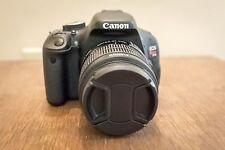 Canon Rebel T3i 18.0 MP SLR With EF-S IS II 18-55mm + Tri-Pad! (2 LENSES)