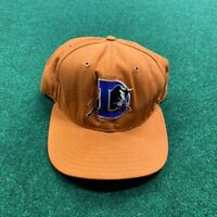Very Rare Vintage Denver Broncos Snapback Hat Orange NEW ERA Football NFL